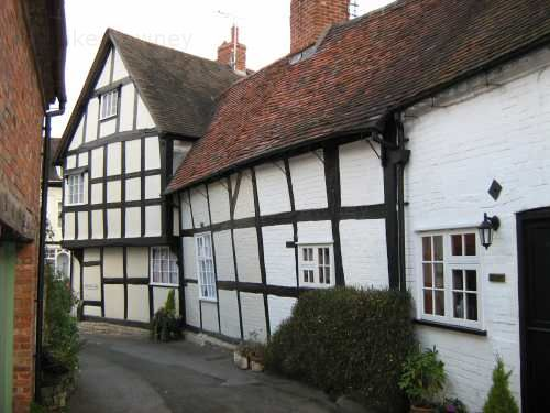 an old building in Alcester