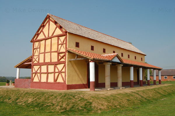 reconstruction of villa