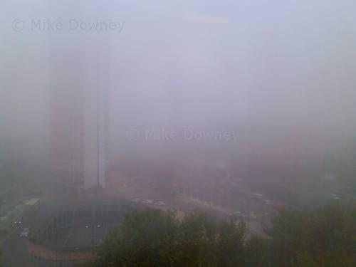 Foggy Birmingham