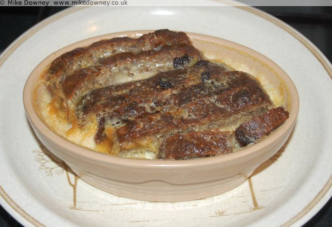 Bananabread and Butter Pudding