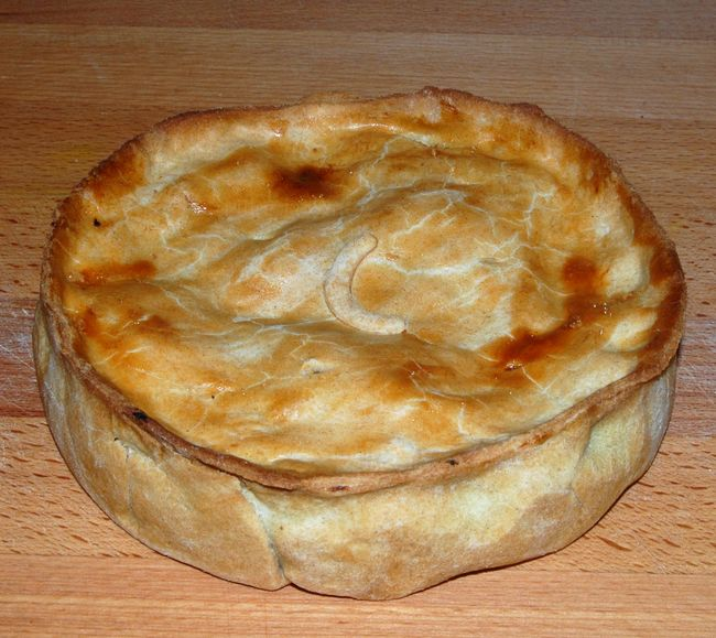 Chicken and Stuffing Pie