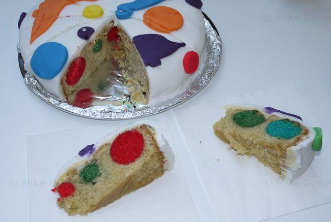 Spotty Dinosaur Cake