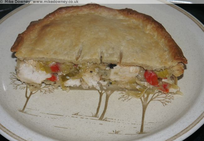Thai Green Curry Pie
