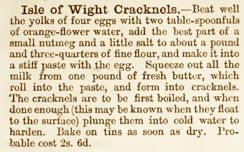 Cracknel Recipe