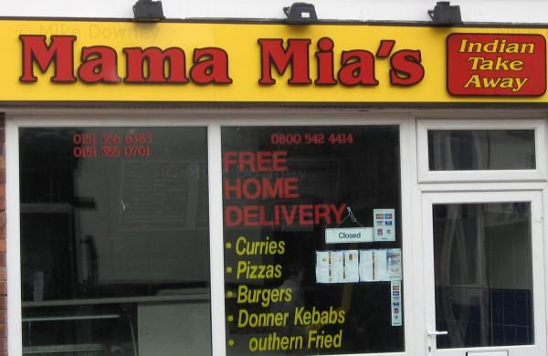 Mama Mia's Indian Take-Away