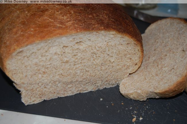 Loaf made using a Kenwood Mixer