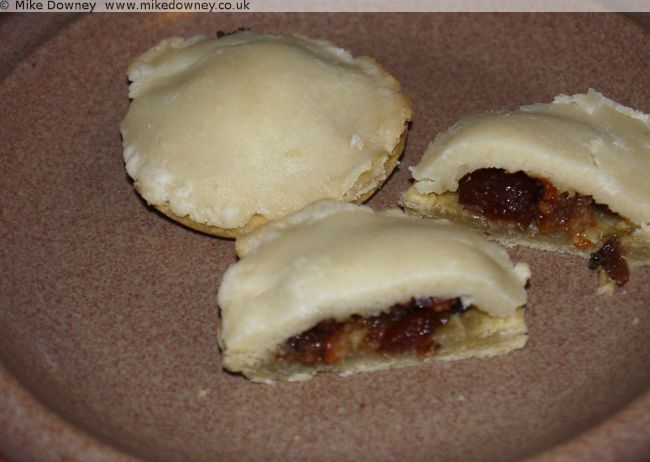 Marzipan Mince Pie