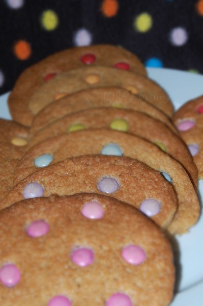 spotty cookies