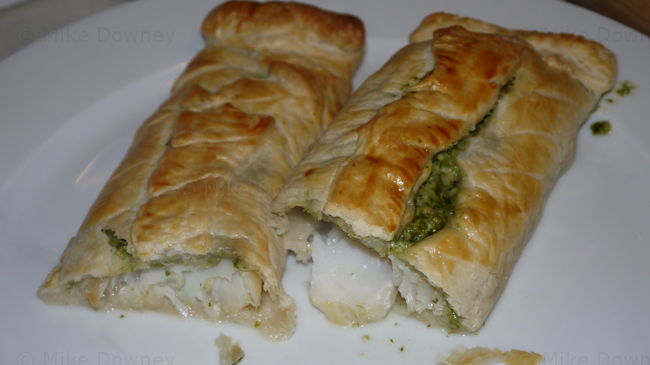 Smoked Cod en croute
