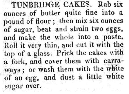 Tonbridge Cakes