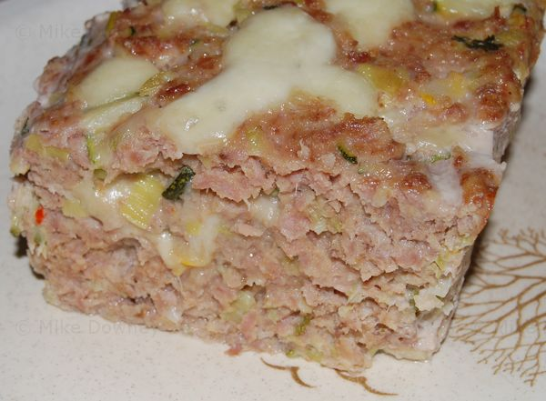 Turkey and Vegetable Meatloaf