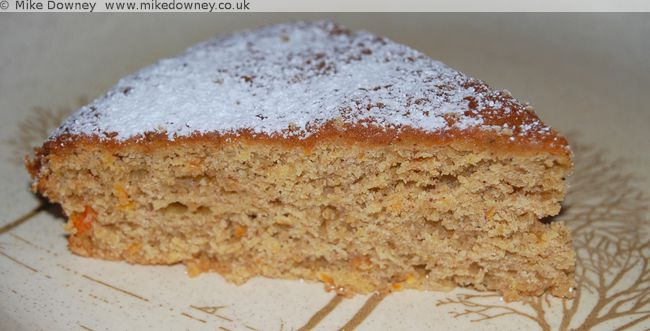 Spiced whole orange cake
