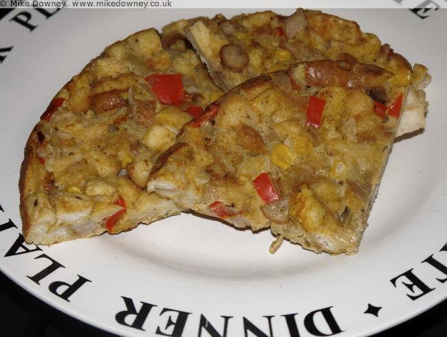 Bread Frittata