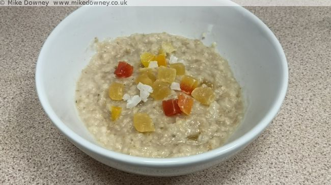 Tropical Fruit Porridge