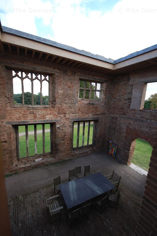 Astley Castle, looking out