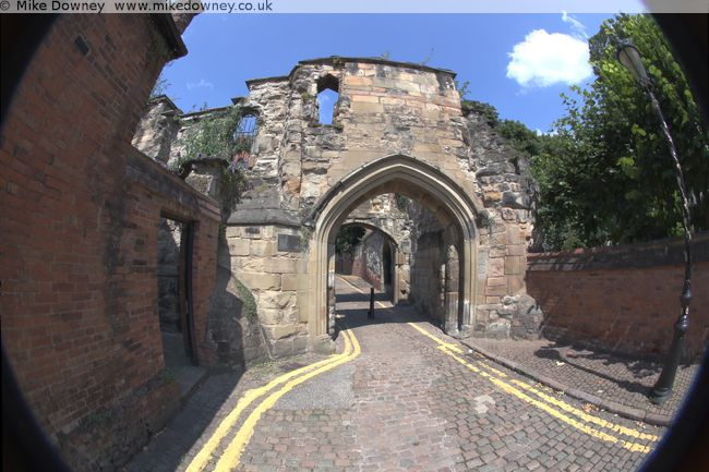 Leicester Castle Tower
