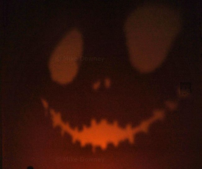 Jack Skellington shadow on wall