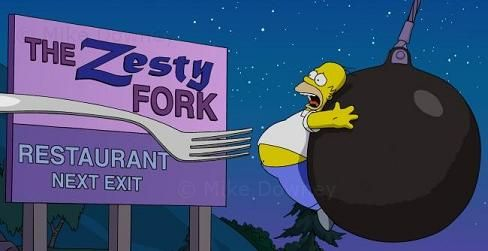 The Zesty Fork Restaurant, near Springfield